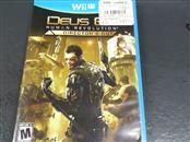 NINTENDO Nintendo Wii U Game DEUS EX HUMAN REVOLUTION